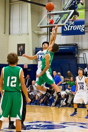ACHS Varsity Boys Basketball 12-4-2012