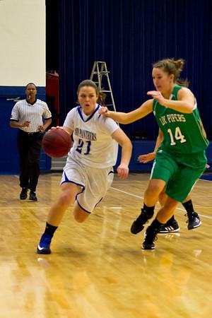 ACHS Varsity Girls Basketball 12-4-2012