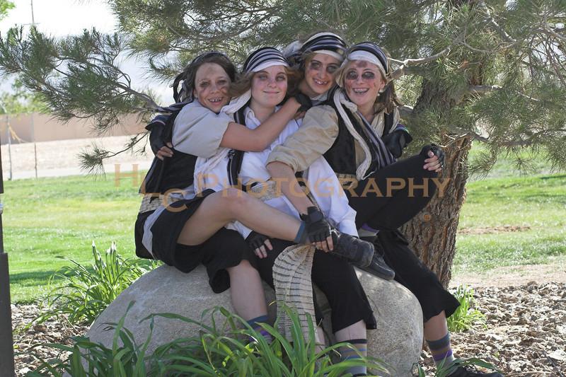 Veronica, Nikki, Baylee & Lauren