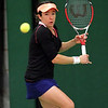 Action from qualifier finals of Aegon GB Pro-Series South Ribble - 6 March 2014