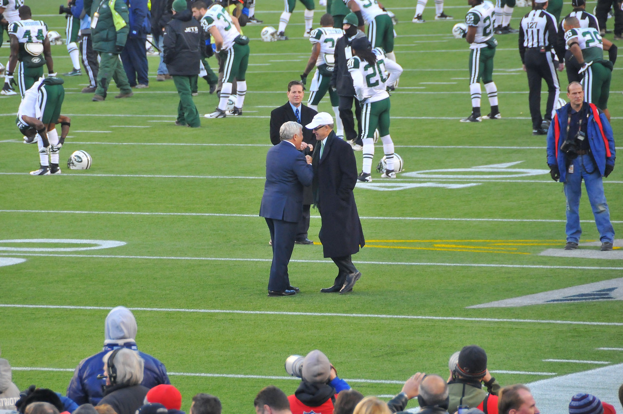 Owners of Patriots and Jets, Gillette Stadium - 16 January 2011