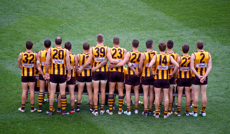 Hawthorn team shot