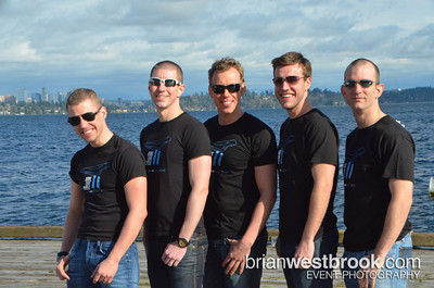 """AIDS Lifecycle 2012 has quite the contingent from Seattle representing """"Team Popular"""". On March 3rd the group got together for a promo photo shoot on the shores of Seattle's Lake Washington.  All Photos (C) 2012 Brian M. Westbrook / brianwestbrook.com. For details: photos AT brianwestbrook DOT com"""