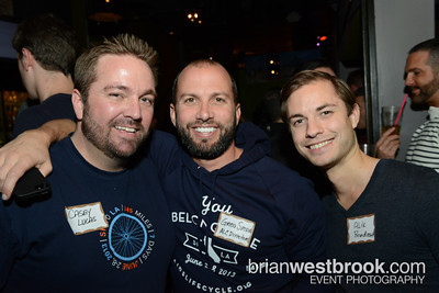 """AIDS/LifeCycle, Team of One ( http://www.teamofone.org ), and Lobby Bar gathered on 11 Jan 2013 for """"Seattle Rides to End AIDS"""", a community event to talk about the life-changing AIDS/LifeCycle.  All Photos (C) 2013 Brian M. Westbrook / brianwestbrook.com. For details: photos AT brianwestbrook DOT com"""