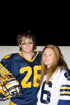AJ Larrabee #26 Mt. Blue Cougar Football