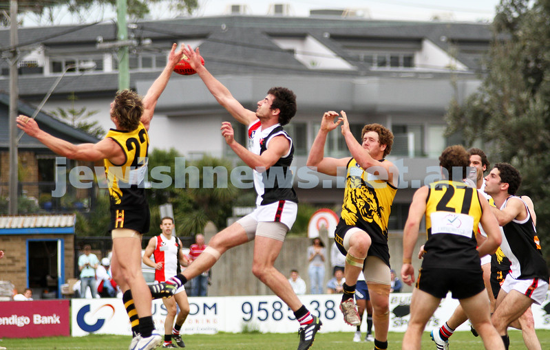 17-9-11. AJAX  defeats Werribee in the C Section grand final at Trevor Barker Oval, Sandringham.   Photo: Peter Haskin