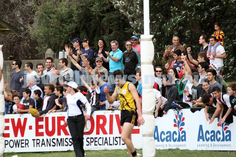 17-9-11. AJAX v Werribee. 2011 C Grade Premiers. Trevor Barker Oval, Sandringham. Photo: Peter Haskin