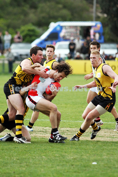 17-9-11. AJAX  defeats Werribee in the C Section grand final at Trevor Barker Oval, Sandringham. . Photo: Peter Haskin