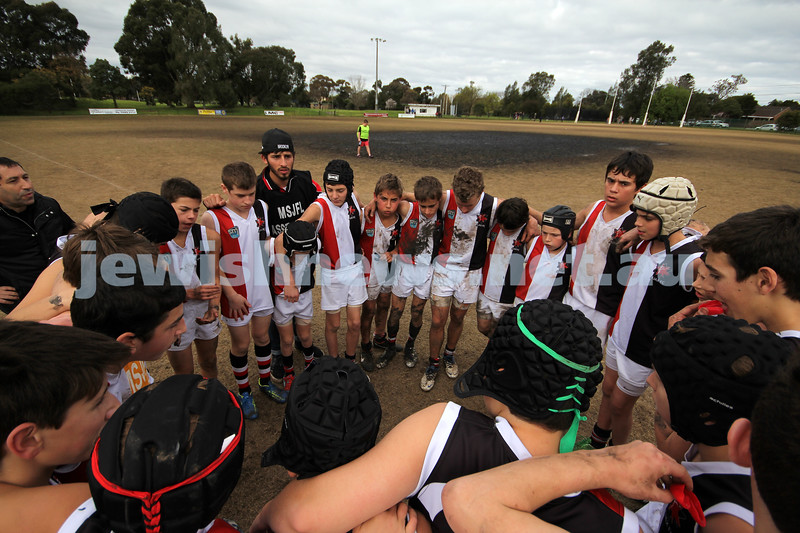 19-8-2012. Ajax Comets Vs. St.Kilda City in the 2012 under 13's div 2 Grand Final @ Highett Reserve. Photo: Lochlan Tangas