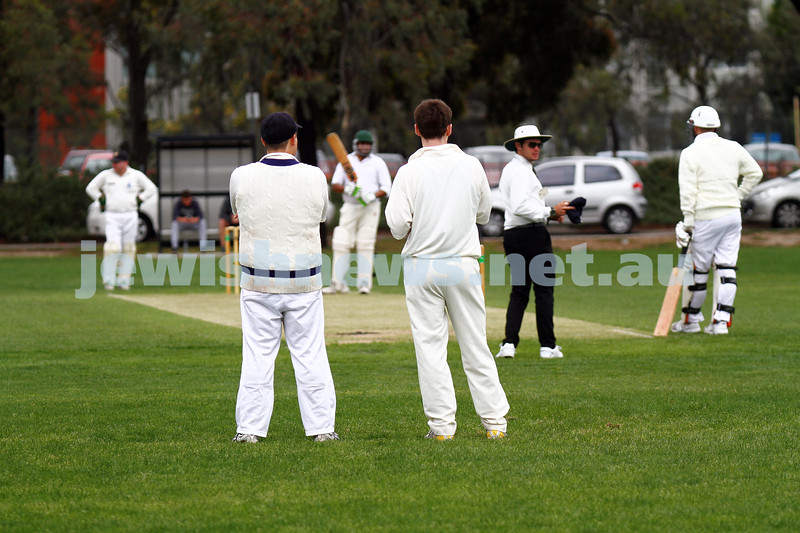 10-11-13. Cricket. AJAX first XI v Monash at Monash University. Photo: Peter Haskin