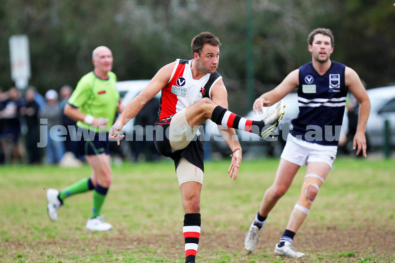 24-8-13. AJAX defeated Caulfield Grammarians by 73 points in the final match of the season.  David FaymanPhoto: Peter Haskin