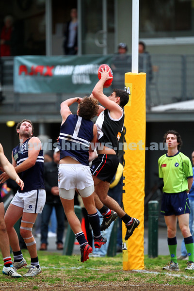 24-8-13. AJAX defeated Caulfield Grammarians by 73 points in the final match of the season. Ritchie Simon. Photo: Peter Haskin