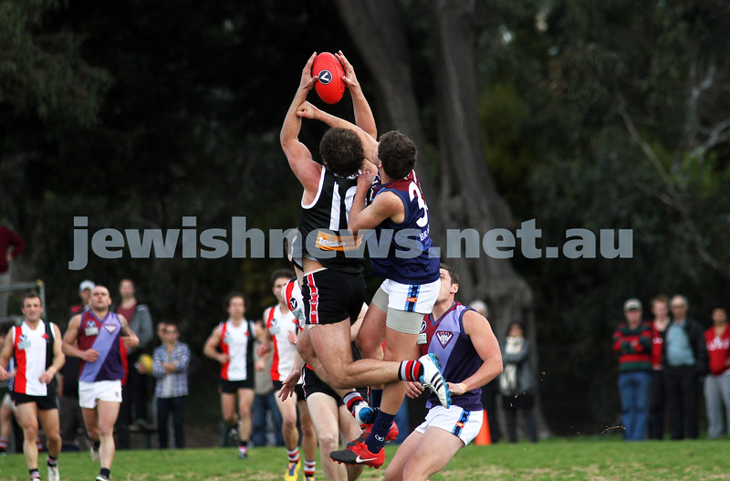 27-8-11. AJAX v Old Essendon. Jason Seidl. Photo: Peter Haskin
