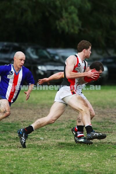 AJAX v Oakleigh. 26-5-12.  Jake Lew. Photo: Peter Haskin