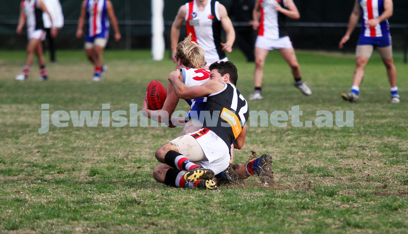 AJAX v Oakleigh. 26-5-12. Adam Caplan. Photo: Peter Haskin