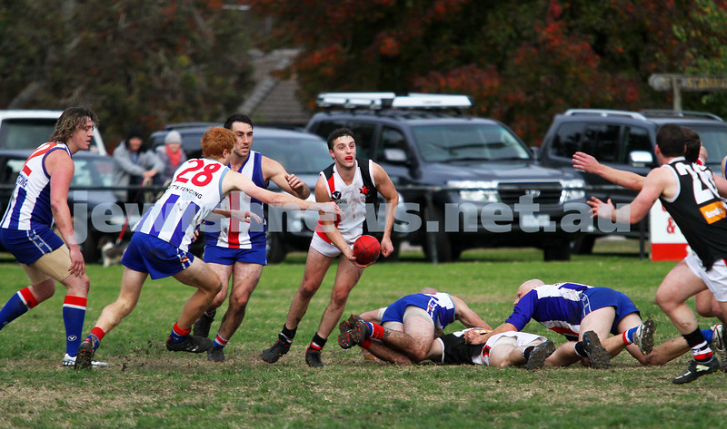 AJAX v Oakleigh. 26-5-12. Nadav Harel. Photo: Peter Haskin