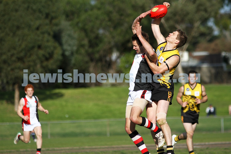 AJAX v Werribee. Second semi final. 3-9-11. Photo: Peter Haskin