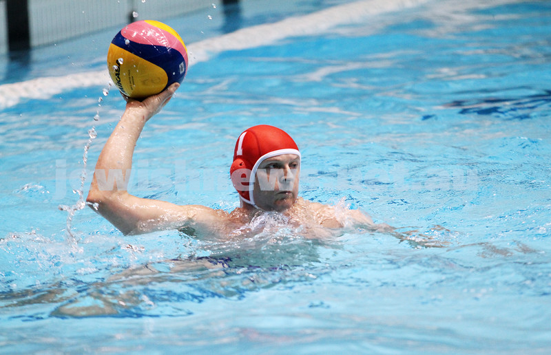 27-6-13. Water polo grand final at MSAC.  AJAX  lost to Melbourne Collegians. 2-4. Photo: Peter Haskin