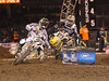 Racers from around the world converged on Angel Stadium in Anaheim California on January 3, 2009 for the opener of the 2009 Monster Energy AMA Supercross series.  The sell-out crowd was treated to a night of phenomenal racing which yielded a surprise first-timer at the top of the podium, Riverside's own Josh Grant.