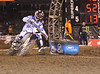 "Racers from around the world converged on Angel Stadium in Anaheim California on January 3, 2009 for the opener of the 2009 Monster Energy AMA Supercross series.  James ""Bubba"" Stewart (#7) battled with reigning champion Chad Reed (#1)  until they collided in lap 6, opening the door for first-timer Josh Grant to take the win."