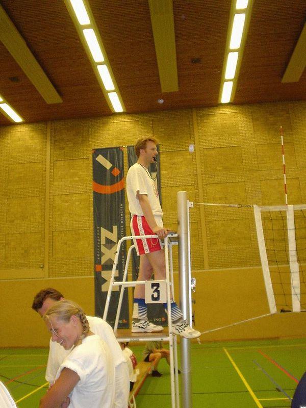 Jochen as umpire