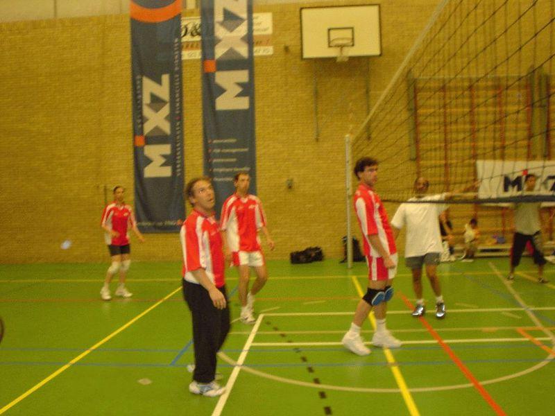 Christoph making a big net fault! LOL :D