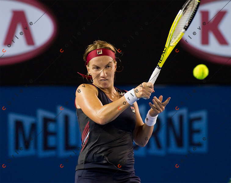 2010 Australian Tennis Open - KERBER, Angelique (GER) vs KUZNETSOVA, Svetlana (RUS) [3] - [photographer] Natasha Peterson - 9687 copy