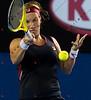 2010 Australian Tennis Open - KERBER, Angelique (GER) vs KUZNETSOVA, Svetlana (RUS) [3] - [photographer] Natasha Peterson - 9795 copy