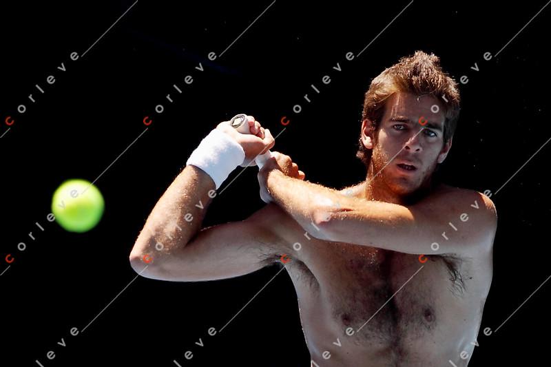 2010 Australian Tennis Open - [practice] Juan Del Potro - 9706