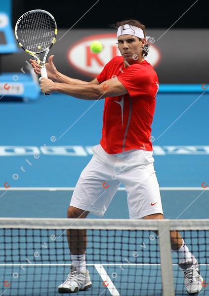 2010 Australian Tennis Open - [practice] Rafael Nadal - 9204
