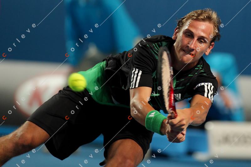 2010 Australian Tennis Open - RODDICK, Andy (USA) [7] vs DE BAKKER, Thiemo (NED) - [photographer] Mark Peterson - 0394