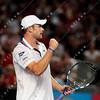 2010 Australian Tennis Open - RODDICK, Andy (USA) [7] vs DE BAKKER, Thiemo (NED) - [photographer] Mark Peterson - 0427