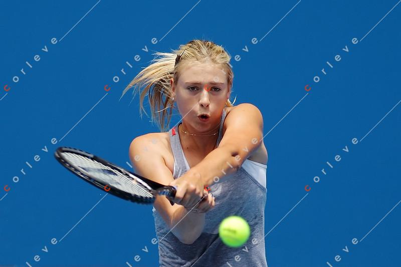 2010 Australian Tennis Open - [practice] Maria Sharapova - 9665