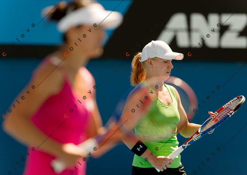 2010 Australian Tennis Open - MATTEK-SANDS Bethanie (USA) + YAN, Zi vs WILLIAMS (USA) - [photographer] Mark Peterson - 3362