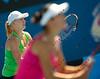 2010 Australian Tennis Open - MATTEK-SANDS Bethanie (USA) + YAN, Zi vs WILLIAMS (USA) - [photographer] Mark Peterson - 3220