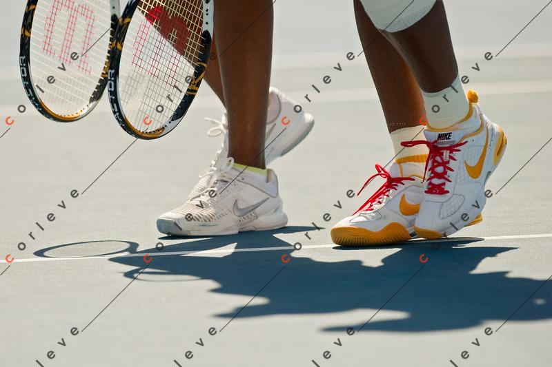 2010 Australian Tennis Open - MATTEK-SANDS Bethanie (USA) + YAN, Zi vs WILLIAMS (USA) - [photographer] Mark Peterson - 3445-3
