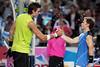 2010 Australian Tennis Open - RUSSELL, Michael (USA) vs DEL POTRO, Juan Martin (ARG) [4] - [photographer] Mark Peterson - 0543