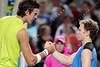 2010 Australian Tennis Open - RUSSELL, Michael (USA) vs DEL POTRO, Juan Martin (ARG) [4] - [photographer] Mark Peterson - 0544