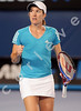 2010 Australian Tennis Open - DEMENTIEVA, Elena (RUS) [5] vs HENIN, Justine (BEL) - [photographer] Natasha Peterson - 2270