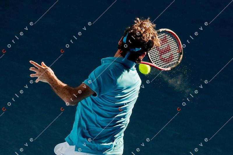 2010 Australian Open - FEDERER, Roger (SUI) [1] vs DAVYDENKO, Nikolay (RUS) [6]
