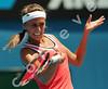 2010 Australian Tennis Open - DULKO, Gisela (ARG) vs IVANOVIC, Ana (SRB) [20] - [photographer] Mark Peterson - 2965