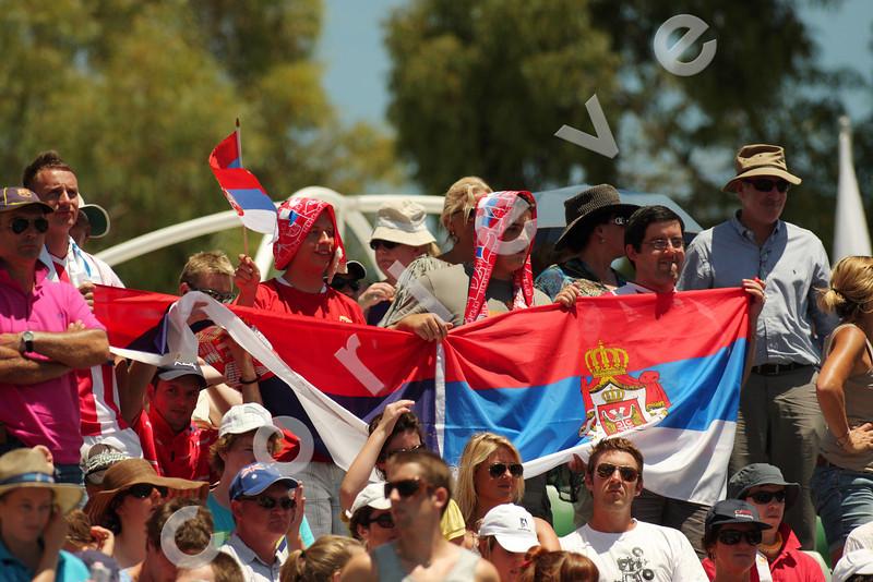 2010 Australian Tennis Open - DULKO, Gisela (ARG) vs IVANOVIC, Ana (SRB) [20] - [photographer] Mark Peterson - 2955