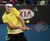 2010 Australian Tennis Open - RUFIN, Guillaume (FRA) vs TOMIC, Bernard (AUS) - [photographer] Mark Peterson - 0621