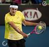 2010 Australian Tennis Open - RUFIN, Guillaume (FRA) vs TOMIC, Bernard (AUS) - [photographer] Mark Peterson - 0625