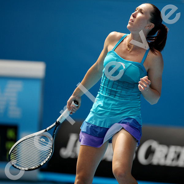 2010 Australian Tennis Open - JANKOVIC, Jelena (SRB) [8] vs NICULESCU, Monica (ROU) - [photographer] Mark Peterson - 0936