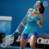 2010 Australian Tennis Open - JANKOVIC, Jelena (SRB) [8] vs NICULESCU, Monica (ROU) - [photographer] Mark Peterson - 0936