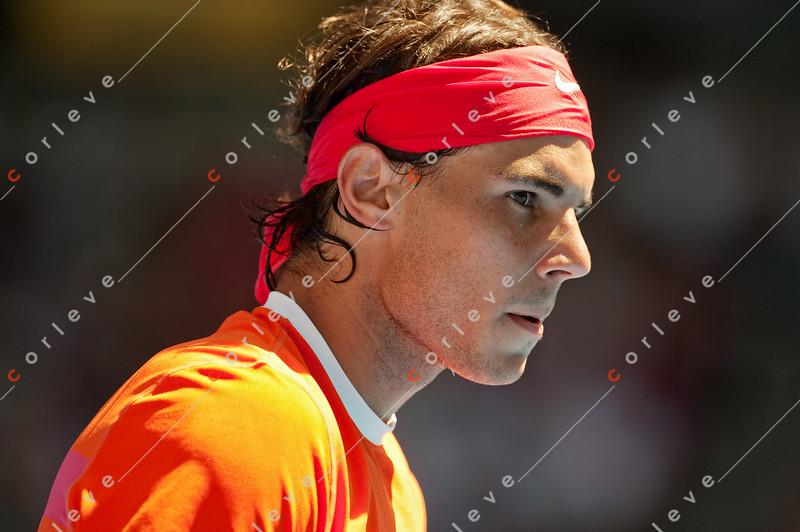 2010 Australian Tennis Open - KARLOVIC, Ivo (CRO) vs NADAL, Rafael (ESP) [2] - [photographer] Mark Peterson - 0980