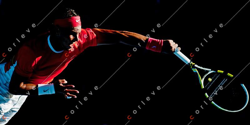 2010 Australian Tennis Open - KARLOVIC, Ivo (CRO) vs NADAL, Rafael (ESP) [2] - [photographer] Mark Peterson - 0900