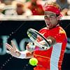 2010 Australian Tennis Open - KARLOVIC, Ivo (CRO) vs NADAL, Rafael (ESP) [2] - [photographer] Mark Peterson - 0952