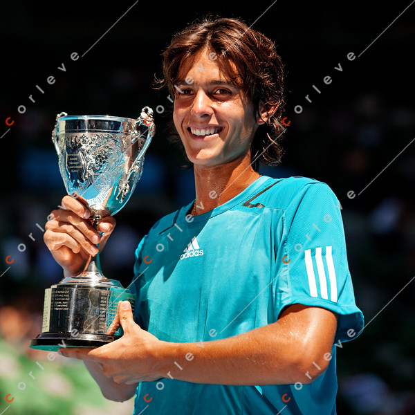 2010 Australian Open - Junior Boys Final - Tiago Fernandes (BRA) def. Sean Berman (AUS)